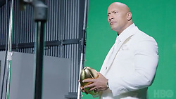 """Dwayne Johnson releases a photo on Instagram with the following caption: """"I walk in to my #Ballers photoshoot and own the room like a king, but in reality I'm just looking for the waffle truck. \nA little behind the scenes action from our key art shoot with one of my fav photographers @michaelmuller7. \nMark You calendars for JULY 23rd. Our biggest and most ambitious season yet. \n#WeBringIt #Ballers on @HBO."""". Photo Credit: Instagram *** No USA Distribution *** For Editorial Use Only *** Not to be Published in Books or Photo Books ***  Please note: Fees charged by the agency are for the agency's services only, and do not, nor are they intended to, convey to the user any ownership of Copyright or License in the material. The agency does not claim any ownership including but not limited to Copyright or License in the attached material. By publishing this material you expressly agree to indemnify and to hold the agency and its directors, shareholders and employees harmless from any loss, claims, damages, demands, expenses (including legal fees), or any causes of action or allegation against the agency arising out of or connected in any way with publication of the material."""