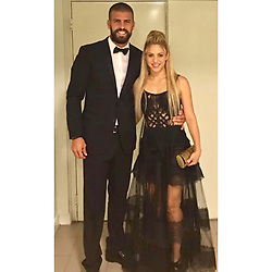 """Shakira releases a photo on Instagram with the following caption: """"\u202aGracias a Antonella y Leo y a la gente de Rosario por su hospitalidad! Shak \u202c"""". Photo Credit: Instagram *** No USA Distribution *** For Editorial Use Only *** Not to be Published in Books or Photo Books ***  Please note: Fees charged by the agency are for the agency's services only, and do not, nor are they intended to, convey to the user any ownership of Copyright or License in the material. The agency does not claim any ownership including but not limited to Copyright or License in the attached material. By publishing this material you expressly agree to indemnify and to hold the agency and its directors, shareholders and employees harmless from any loss, claims, damages, demands, expenses (including legal fees), or any causes of action or allegation against the agency arising out of or connected in any way with publication of the material."""