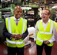 Chuka Umunna Visits Duo Plastic Factory