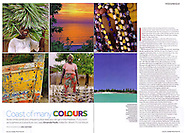 Tear sheet from a feature I photographed on the Quirimbas Archipelago of Mozambique for Sunday Times Travel Magazine (UK).