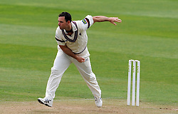 Somerset's Jim Allenby - Photo mandatory by-line: Harry Trump/JMP - Mobile: 07966 386802 - 27/04/15 - SPORT - CRICKET - LVCC Division One - County Championship - Somerset v Middlesex - Day 2 - The County Ground, Taunton, England.