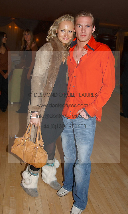 KALITA AL-SWAIDI and JACOBI ANSTRUTHER-GOUGH-CALTHORPE at the annual Laurent Perrier Pink Party held at The Sanderson Hotel, Berners Street, London on 27th April 2005.<br /><br />NON EXCLUSIVE - WORLD RIGHTS