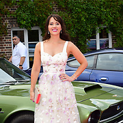 Hayley Sparkes attends the 2018 Grand Prix Ball held at The Hurlingham Club on July 4, 2018 in London, England.