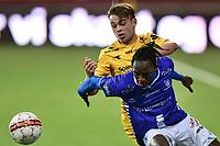 Norgesmesterskap Fotball menn 2016 , 21. September 2016 ,  NM , Bodø/Glimt - Sarpsborg 08, Bodø/Glimts Patrick Berg, Sarpsborgs Amani Dickson Mbedule, duell