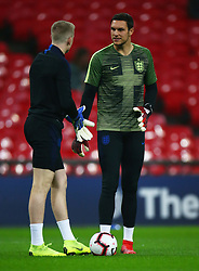 November 15, 2018 - London, United Kingdom - England's Alex McCarthy.during the friendly soccer match between England and USA at the Wembley Stadium in London, England, on 15 November 2018. (Credit Image: © Action Foto Sport/NurPhoto via ZUMA Press)