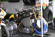 A new MotoE electric bike during the HJC Helmets Motorrad Grand Prix Deutschland at Hohenstein-Ernstthal, Chemnitz, Saxony, Germany on 5 July 2019.