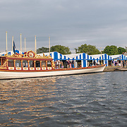 Boat park <br /> <br /> Racing at the Henley Royal Regatta on The Thames river, Henley on Thames, England. Saturday 6 July 2019. © Copyright photo Steve McArthur / www.photosport.nz