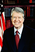 James Early 'Jimmy' Carter (b1924) 39th President of the United States of Amerca 1977-1981.