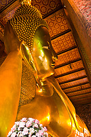 Wat Pho (Wat Po), Temple of the Reclining Buddha, Bangkok, Thailand