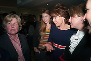 SANDI TOKSVIG; GEORGINA ROBERTSON; KATHY LETTE; DEBBIE TOKSVIG, BULLY BOY by Sandi Toksvig, St. James Theatre, 12 Palace Street, London. 19 September 2012