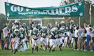 Elyria at Elyria Catholic varsity high school football at Knights of Columbus Field in Elyria, Ohio.