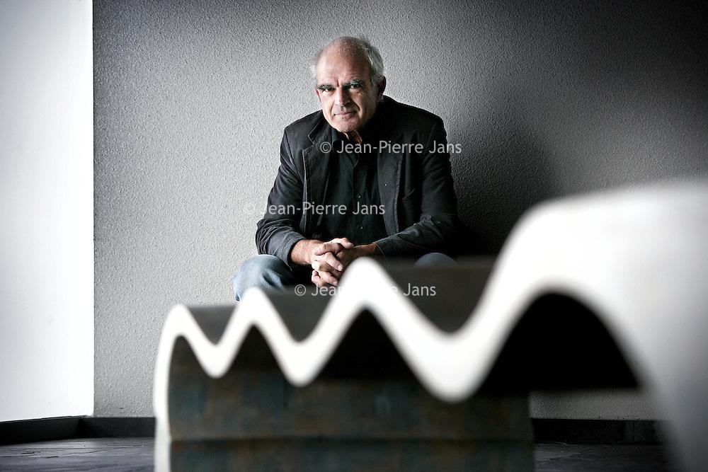 Nederland, Amsterdam,26 september 2007..Schrijver Tim Krabbe, broer van Jeroen Krabbe...Writer Tim Krabbe, Jeroens' Krabbe brother.