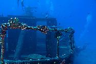 Starboard Side Rail and Deck, Carthaginian, Maui Hawaii