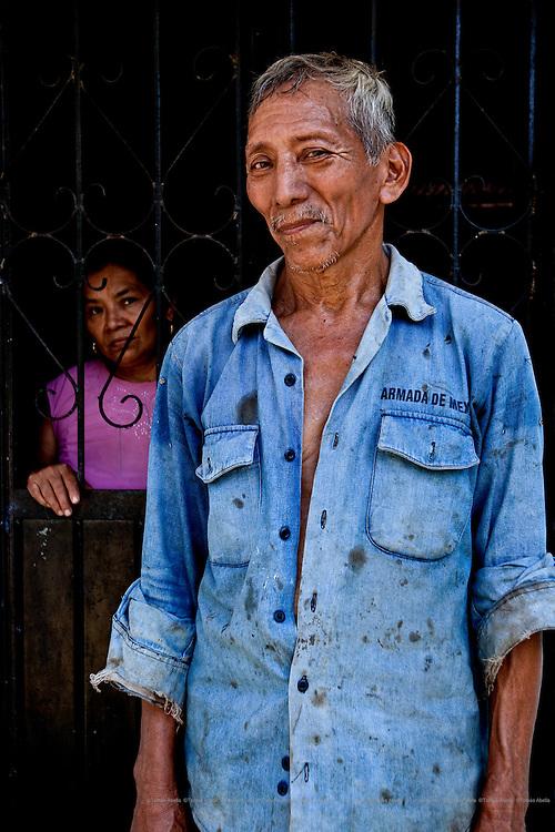 Cocoa farmers from Villa Comaltitlán, Mexico.