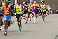 2013 Boston Marathon: Watson, Hartmann lose touch with lead group