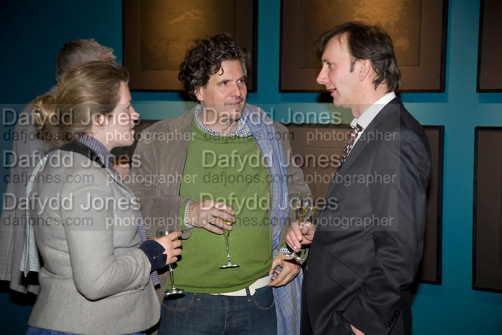 JAMES MOORES; KEITH COVENTRY, Mythologies. Haunch of venison. 6 Burlington Gardens. London. 10 March 2009 *** Local Caption *** -DO NOT ARCHIVE-© Copyright Photograph by Dafydd Jones. 248 Clapham Rd. London SW9 0PZ. Tel 0207 820 0771. www.dafjones.com.<br /> JAMES MOORES; KEITH COVENTRY, Mythologies. Haunch of venison. 6 Burlington Gardens. London. 10 March 2009