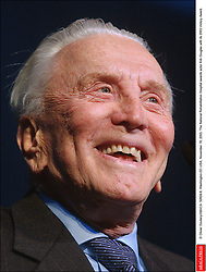 Kirk Douglas Dies At 103 - © Olivier Douliery/ABACA. 52824-8. Washington-DC-USA, November 18, 2003. The National Rehabilitation Hospital awards actor Kirk Douglas with its 2003 Victory Award.