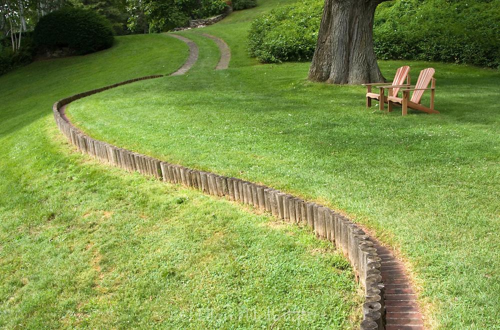 Art Installation at Naumkeg Estate in The Berkshires, Massachusetts