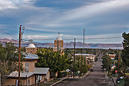 Downtown Alpine, Texas, a town known as the gateway to Big Bend National Park and the Swiss Alps of Texas.