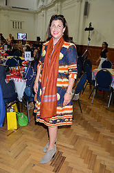 KIRSTIE ALLSOPP at a lunch in aid of the charity African Solutions to African Problems (ASAP) held at the Royal Horticultural Hall, Vincent Square, London on 19th May 2016.