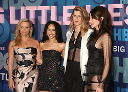 May 29, 2019 - New York City, New York, U.S. - Actresses REESE WITHERSPOON, ZOE KRAVITZ, LAURA DERN and SHAILENE WOODLEY attend HBO's Season 2 premiere of 'Big Little Lies' held at Jazz at Lincoln Center. (Credit Image: © Nancy Kaszerman/ZUMA Wire)