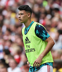 Gabriel Martnelli of Arsenal warms up - Mandatory by-line: Arron Gent/JMP - 28/07/2019 - FOOTBALL - Emirates Stadium - London, England - Arsenal v Olympique Lyonnais - Emirates Cup