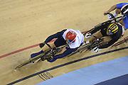 2012 Olympic Velodrome. London,Great Britain,..Description:  event- Men's Keirin, Sir Chris HOY winning the semi-final. Semi Final..2012 London Olympic Track Cycling. Velodrome, Stratford East London. UK.. ..16:23:48  Tuesday  07/08/2012 [Mandatory Credit: Peter Spurrier/Intersport Images]  .