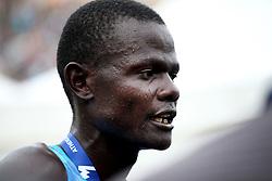 November 12, 2017 - Athens, Attica, Greece - Samuel Kalalei of Kenya wins the 35th Athens Classic Marathon at the Panathenaic stadium in Athens , Greece, November 12, 2017. (Credit Image: © Giorgos Georgiou/NurPhoto via ZUMA Press)