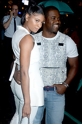 Renell Medrano and A$ap Ferg arriving to the Tiffany & Co. Paper Flowers event and Believe In Dreams campaign launch on May 3, 2018 in New York City, NY, USA. Photo by Dennis van Tine/ABACAPRESS.COM
