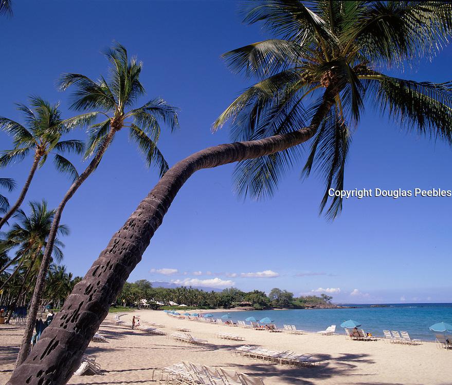 Kauna'oa Bay, Mauna Kea Hotel, Island of Hawaii, Hawaii, USA<br />