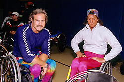Wheel Chair Marathoners, Boston Marathon 1993