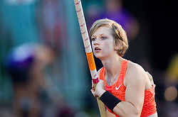 Tina Sutej of Slovenia competes at Pole Vault during 20th European Athletics Classic Meeting in Honour of Miners' Day in Velenje on July 1, 2015 in Stadium Velenje, Slovenia. Photo by Vid Ponikvar / Sportida