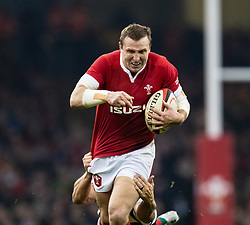 Wales Hadleigh Parkes<br /> <br /> Photographer Simon King/Replay Images<br /> <br /> Friendly - Wales v Barbarians - Saturday 30th November 2019 - Principality Stadium - Cardiff<br /> <br /> World Copyright © Replay Images . All rights reserved. info@replayimages.co.uk - http://replayimages.co.uk