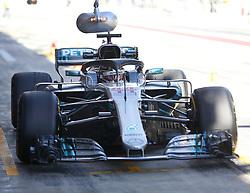 March 6, 2018 - Barcelona, Spain - Testvecka 2, Formel 1, Barcelona ..Lewis Hamilton, Mercedes (Credit Image: © JerrevÃ…Ng Stefan/Aftonbladet/IBL via ZUMA Wire)