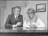 1982 - Geraldine Brannigan meets Minister Sean Doherty P14