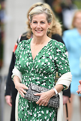 Members of the Royal Family attend the Chelsea Flower Show at the Royal Hospital Chelsea, London, UK, on the 20th May 2019. 20 May 2019 Pictured: Members of the Royal Family attend the Chelsea Flower Show at the Royal Hospital Chelsea, London, UK, on the 20th May 2019. Photo credit: James Whatling / MEGA TheMegaAgency.com +1 888 505 6342