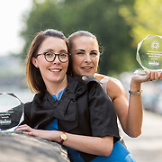 23.05.2018.       <br /> Today, the Institute of Community Health Nursing (ICHN) hosted its2018 community nurseawards in association withHome Instead Senior Care,at its annual nursing conference, in the Strand Hotel Limerick, rewarding public health nurses for their dedication to community care across the country. <br /> <br /> Pictured are ICHN Nurse Awards Joint Award Winners Aoife McEvoy Public Health Nurse Lucan Health Centre and Sandra Flaherty Public Health Nurse Lucan Health Centre. Picture: Alan Place
