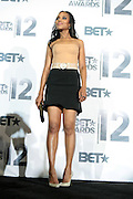 June 30, 2012-Los Angeles, CA : Actress Kerry Washington attends the 2012 BET Awards- Media Room held at the Shrine Auditorium on July 1, 2012 in Los Angeles. The BET Awards were established in 2001 by the Black Entertainment Television network to celebrate African Americans and other minorities in music, acting, sports, and other fields of entertainment over the past year. The awards are presented annually, and they are broadcast live on BET. (Photo by Terrence Jennings)