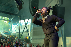 July 3, 2018 - Milwaukee, Wisconsin, U.S - TRIPPIE REDD (MICHAEL LAMAR WHITE IV) during Summerfest Music Festival at Henry Maier Festival Park in Milwaukee, Wisconsin (Credit Image: © Daniel DeSlover via ZUMA Wire)