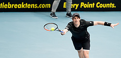 23.10.2016, Stadthalle, Wien, AUT, ATP Tour, Erste Bank Open, Tie Break Tens, Finale, im Bild Andy Murray (GBR) // Andy Murray of Great Britain during the final match of the Tie Break Tens of Erste Bank Open of ATP Tour at the Stadthalle in Vienna, Austria on 2016/10/23. EXPA Pictures © 2016, PhotoCredit: EXPA/ Sebastian Pucher