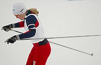 Langrenn, 01. mars 2003, Junior NM, Caroline Tangen, Sjåstad Vestre Lier, ble nummer to i fristil jente 17 år.