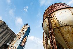 B&D Mills agricultural complex, Grapevine, Texas USA