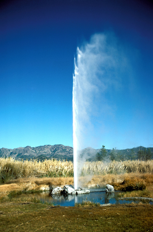 CA, Old Faithful Geyser, Calistoga  .Photo: canapa104..Photo copyright: Lee Foster, 510-549-2202, lee@fostertravel.com, www.fostertravel.com