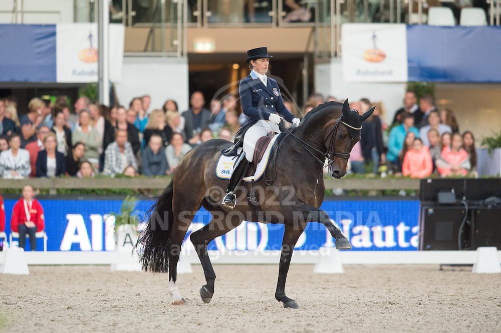 Tinne Vilhelmson Silfven (SWE) & Don Auriello - Grand Prix Freestyle - CDIO5 Nations Cup  - CHIO Rotterdam 2016 - Kralingse Bos, Rotterdam, Netherlands - 25 June 2016
