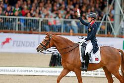 Dujardin Charlotte, GBR, Gio<br /> European Championship Dressage - Hagen 2021<br /> © Hippo Foto - Dirk Caremans<br /> 11/09/2021
