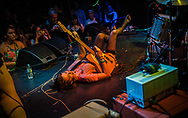 Lydia Night of The Regrettes during a concert in the Constellation Room inside Observatory OC.