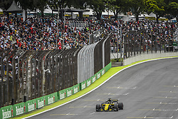 November 10, 2018 - Sao Paulo, Brazil - 27 HULKENBERG Nico (ger), Renault Sport F1 Team RS18, action during the 2018 Formula One World Championship, Brazil Grand Prix from November 08 to 11 in Sao Paulo, Brazil -  FIA Formula One World Championship 2018, Grand Prix of Brazil World Championship;2018;Grand Prix;Brazil  (Credit Image: © Hoch Zwei via ZUMA Wire)