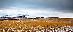 THEMENBILD, isländische Landschaftsaufnahmen, aufgenommen am 22. Oktober 2019 in Island Kjalvegur F35, Gljasteinn Arbudir Kjolur // icelandic landscape shots, pictured  in Island Kjalvegur F35, Gljasteinn Arbudir Kjolur on 2019/10/22. EXPA Pictures © 2019, PhotoCredit: EXPA/ Peter Rinderer