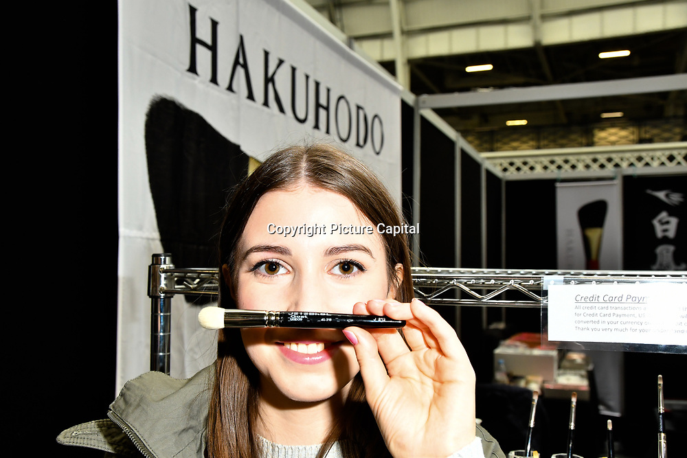Hakuhodo exhibition at IMATS London on 18 May 2019,  London, UK.