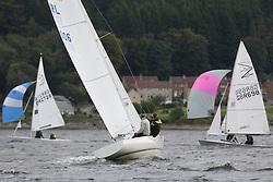 Marine Blast Regatta 2013 - Holy Loch SC<br /> <br /> 1006, Blue, Robert Paterson, OD, Etchells<br /> <br /> Credit: Marc Turner / PFM Pictures